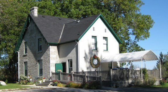 The Canadian Baseball Hall of Fame in St. Marys, Ontario, Canada