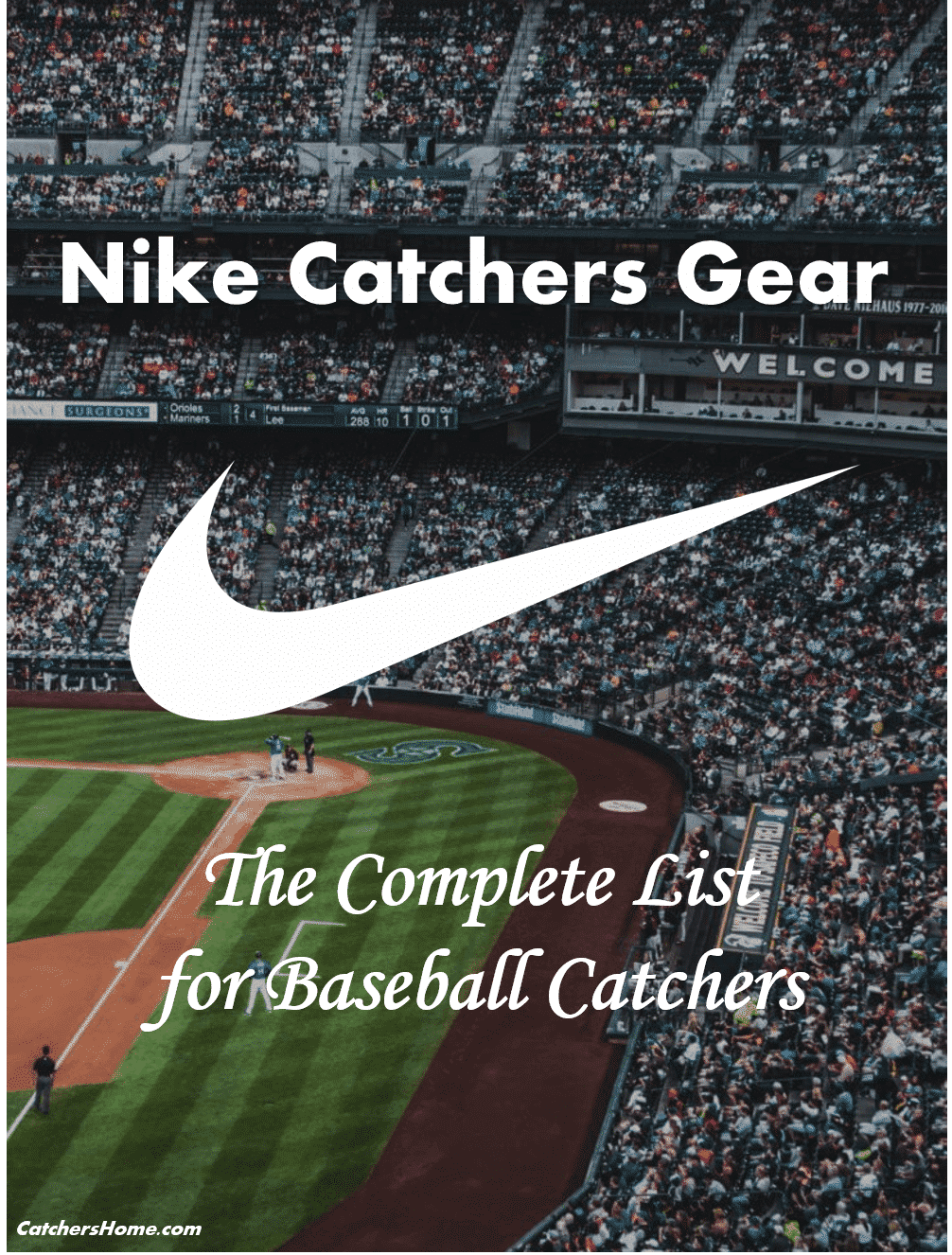 ce6401c20929 Nike Catchers Gear  The Complete and Comprehensive List for Catchers