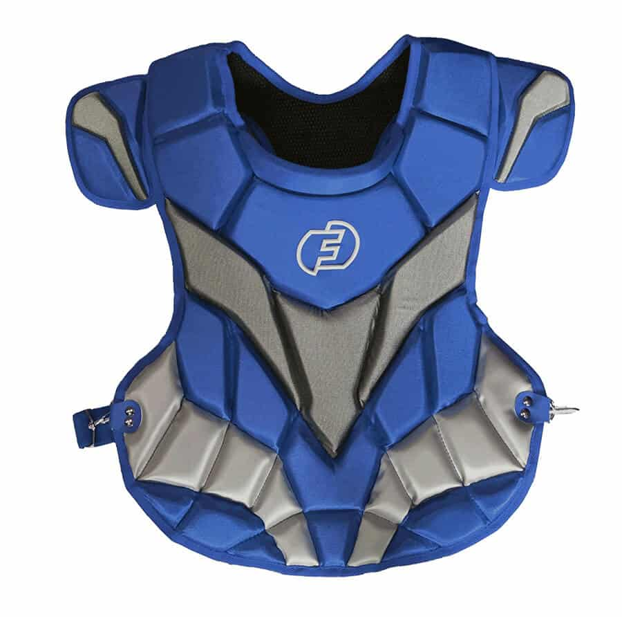Force3 chest protector, blue