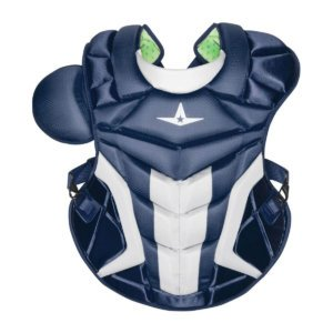 all star axis chest protector in navy blue