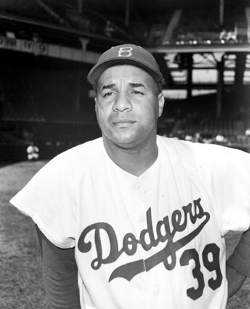 roy campanella hall of fame catcher brooklyn dodgers