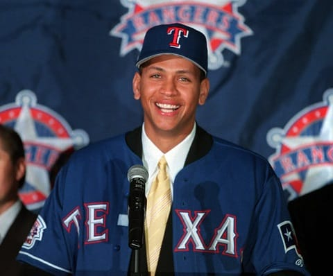 Alex Rodriguez $252 million contract with rangers in 2000 at press conference