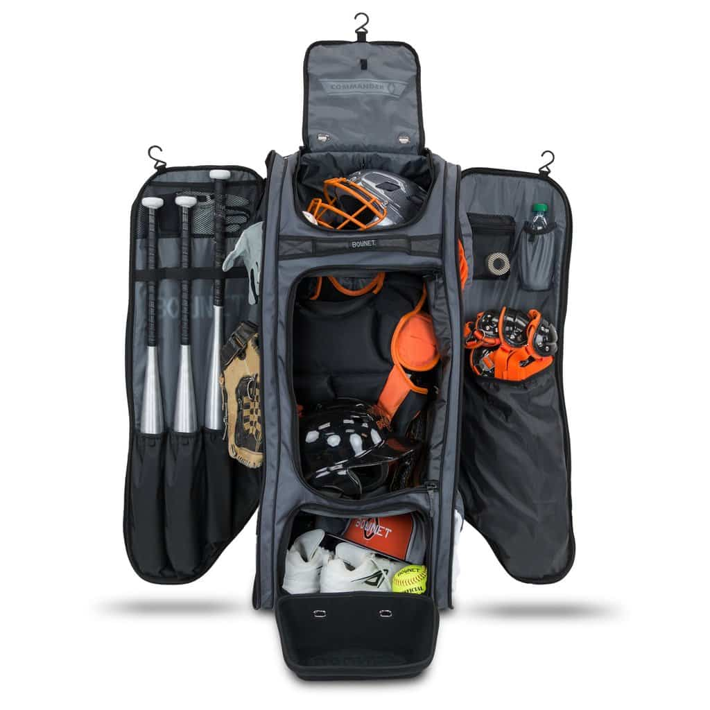 inside view of the bownet commander catchers bag