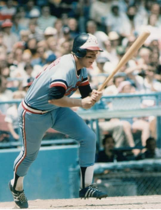 Butch Wynegar at bat while playing for the Minnesota Twins