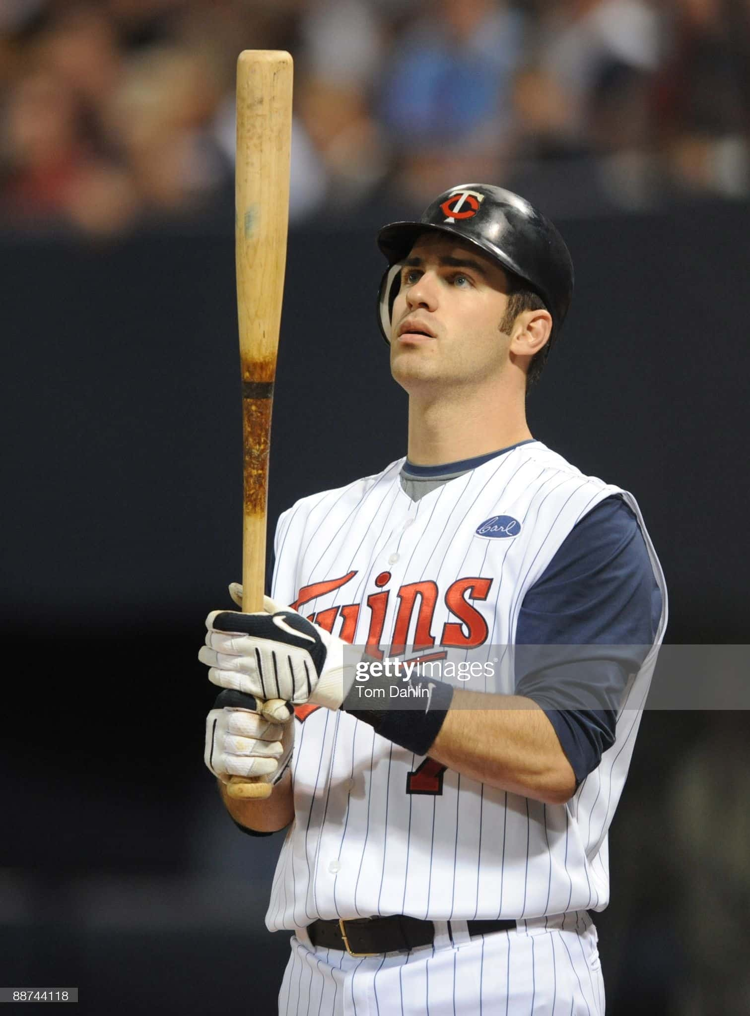 Joe Mauer in 2009 in a game against the Pirates